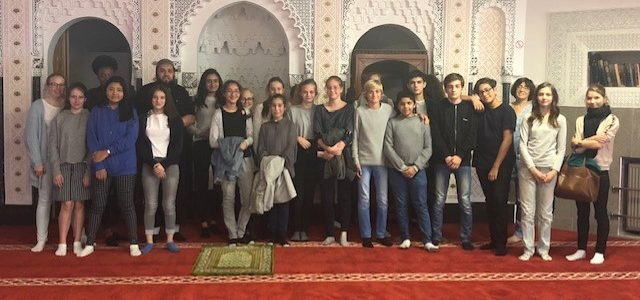 School bezoekt onze Moskee 15 OCT 2018